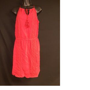 Red Michael Kors Boho Dress Size 6
